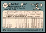 2014 Topps Heritage #360  Brandon Belt  Back Thumbnail