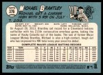 2014 Topps Heritage #376  Michael Brantley  Back Thumbnail