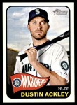 2014 Topps Heritage #381  Dustin Ackley  Front Thumbnail