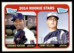 2014 Topps Heritage #386   -  Yordano Ventura / Jimmy Nelson Rookies Front Thumbnail