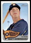 2014 Topps Heritage #388  Matt Dominguez  Front Thumbnail