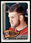 2014 Topps Heritage #400 POR Bryce Harper  Front Thumbnail
