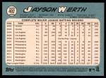 2014 Topps Heritage #402  Jayson Werth  Back Thumbnail