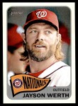 2014 Topps Heritage #402  Jayson Werth  Front Thumbnail