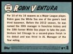2014 Topps Heritage #414  Robin Ventura  Back Thumbnail