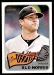2014 Topps Heritage #417  Bud Norris  Front Thumbnail