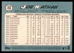 2014 Topps Heritage #418  Joe Nathan  Back Thumbnail