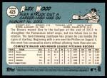 2014 Topps Heritage #423  Alex Wood  Back Thumbnail