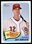 2014 Topps Heritage #432  Jay Bruce  Front Thumbnail