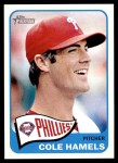 2014 Topps Heritage #483  Cole Hamels  Front Thumbnail
