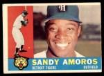 1960 Topps #531  Sandy Amoros  Front Thumbnail