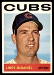 1964 Topps #510  Lindy McDaniel  Front Thumbnail