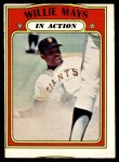 1968 O-Pee-Chee #50  Willie Mays  Front Thumbnail
