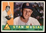 1960 Topps #250  Stan Musial  Front Thumbnail