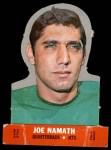 1968 Topps Stand-Ups #17  Joe Namath  Front Thumbnail