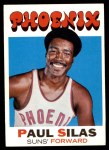 1971 Topps #54  Paul Silas   Front Thumbnail