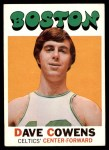 1971 Topps #47  Dave Cowens   Front Thumbnail
