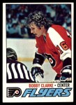 1977 Topps #115  Bobby Clarke  Front Thumbnail
