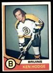 1974 Topps #230  Ken Hodge  Front Thumbnail