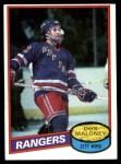1980 Topps #231  Don Maloney  Front Thumbnail