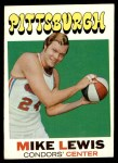 1971 Topps #189  Mike Lewis  Front Thumbnail