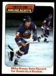 1978 Topps #1   -  Mike Bossy Highlights Front Thumbnail