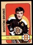 1972 Topps #150  Phil Esposito  Front Thumbnail