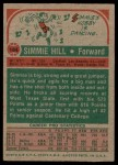 1973 Topps #184  Simmie Hill  Back Thumbnail