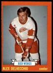 1973 Topps #141  Alex Delvecchio   Front Thumbnail