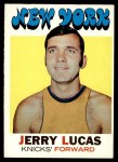 1971 Topps #81  Jerry Lucas   Front Thumbnail
