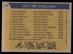 1971 Topps #138   -  Lew Alcindor / Elvin Hayes / John Havlicek NBA Scoring Leaders Back Thumbnail