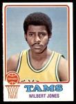1973 Topps #221  Wilbert Jones  Front Thumbnail