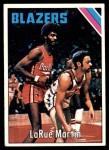 1975 Topps #183  LaRue Martin  Front Thumbnail