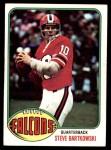 1976 Topps #35  Steve Bartkowski   Front Thumbnail