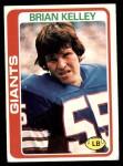 1978 Topps #291  Brian Kelley  Front Thumbnail
