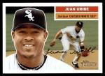 2005 Topps Heritage #19  Juan Uribe  Front Thumbnail