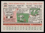 2005 Topps Heritage #59  Carlos Guillen  Back Thumbnail