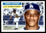 2005 Topps Heritage #24  Edwin Jackson  Front Thumbnail