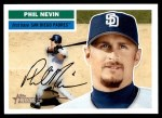 2005 Topps Heritage #108  Phil Nevin  Front Thumbnail