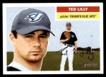 2005 Topps Heritage #168  Ted Lilly  Front Thumbnail