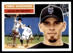 2005 Topps Heritage #62  Chris Woodward  Front Thumbnail