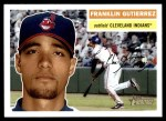 2005 Topps Heritage #167  Franklin Gutierrez  Front Thumbnail