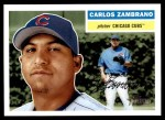 2005 Topps Heritage #55  Carlos Zambrano  Front Thumbnail