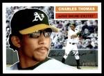 2005 Topps Heritage #14  Charles Thomas  Front Thumbnail
