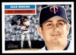 2005 Topps Heritage #49  Juan Rincon  Front Thumbnail