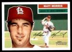 2005 Topps Heritage #170  Matt Morris  Front Thumbnail