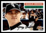 2005 Topps Heritage #118 BLK M.Ordonez  Front Thumbnail