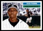 2005 Topps Heritage #137  Juan Pierre  Front Thumbnail