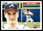 2005 Topps Heritage #34  Nick Green  Front Thumbnail