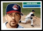 2005 Topps Heritage #58  David Riske  Front Thumbnail